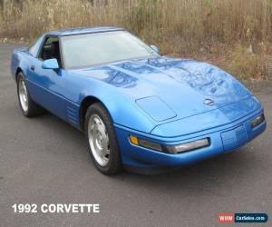 Classic 1992 Chevrolet Corvette Base Hatchback 2-Door for Sale