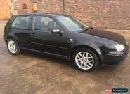 2003 VOLKSWAGEN GOLF GT TDI 150 BHP 3 DOOR BLACK for Sale