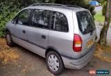 Classic 2002 Vauxhall Zafira 1.8 Petrol - Silver for Sale