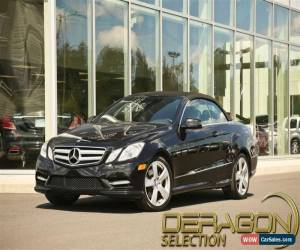 Classic 2013 Mercedes-Benz E-Class for Sale