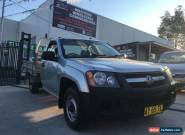 2008 Holden Colorado RC DX (4x2) Silver Manual 5sp M Cab Chassis for Sale
