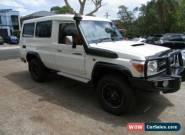 2014 Toyota Landcruiser VDJ78R MY12 Update GXL (4x4) White Manual 5sp M for Sale