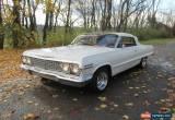 Classic 1963 Chevrolet Impala Base Convertible 2-Door for Sale