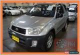 Classic 2002 Toyota RAV4 ACA20R Edge (4x4) Grey Manual 5sp M Wagon for Sale