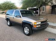 1999 Chevrolet Tahoe 2-Door Sport for Sale