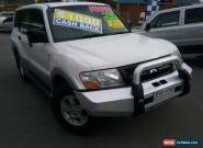 2004 Mitsubishi Pajero NP GLS LWB (4x4) White Automatic 5sp A Wagon for Sale