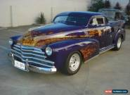 1947 CHEV STYLEMASTER CHOPPED ROOF HOT ROD UTE for Sale