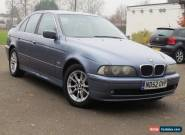 2002 BMW 520I SE AUTO BLUE SALOON - LEATHER - DRIVES BEAUTIFULLY - LONG MOT for Sale