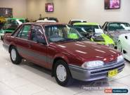 1988 Holden Commodore VL SL Burgundy Manual 5sp M Sedan for Sale