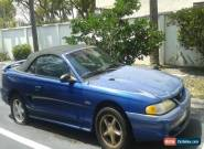1997 Ford Mustang GT Convertible 2-Door for Sale