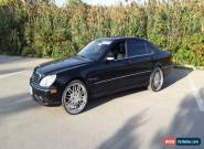 Mercedes-Benz: S-Class S55 AMG for Sale