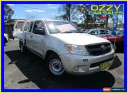 2008 Toyota Hilux GGN15R 08 Upgrade SR Silver Automatic 5sp A Cab Chassis for Sale