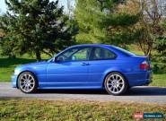 BMW: 3-Series 330Ci Individual ZHP for Sale
