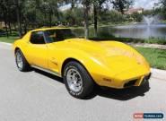 1977 Chevrolet Corvette Base Coupe 2-Door for Sale