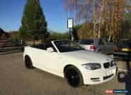 BMW 118i SE CONVERTIBLE  - LOW MILES - IMMACULATE for Sale