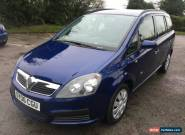 2006 VAUXHALL ZAFIRA 1.6 LIFE 7 SEATER ONLY 68K MILES WITH FULL SERVICE HISTORY for Sale