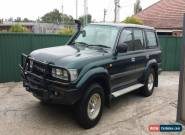 1994 Toyota Landcruiser GXL 80 series dual fuel auto for Sale