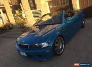 BMW: M3 2 door convertible for Sale