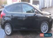 FORD FOCUS ZETEC 125 BLACK 2011 1.6 PETROL MANUAL - DAMAGED REPAIRABLE - for Sale