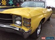 Chevrolet: Chevelle Malibu for Sale