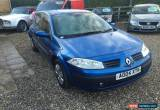 Classic 2004 RENAULT MEGANE EXPRESSION 16V.SPARES OR REPAIR for Sale