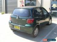 TOYOTA ECCO 4 DOOR HATCH 10/2001 5 SPEED MANUAL STEER AND COLD AIR CHEAP for Sale
