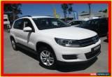 Classic 2013 Volkswagen Tiguan 5N MY14 118TSI White Manual 6sp M Wagon for Sale