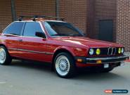 1985 BMW 3-Series Base Coupe 2-Door for Sale