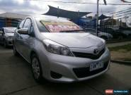 2012 Toyota Yaris NCP131R YRS Silver Automatic 4sp A Hatchback for Sale