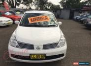 2007 Nissan Tiida C11 ST White Automatic 4sp A Sedan for Sale
