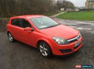 2006 VAUXHALL ASTRA 1.8 SRI+ RED petrol 5 door for Sale