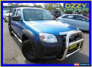 2008 Mazda BT-50 08 Upgrade B3000 DX (4x4) Blue Manual 5sp M Dual Cab Pick-up for Sale