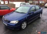 2003 03 PLATE VAUXHALL ASTRA 5 DOOR 1.6 16V ELEGANCE BLUE for Sale