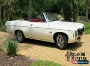 1969 Chevrolet Impala 2 Door Convertible for Sale