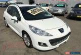 Classic 2010 Peugeot 207 MY10 Sportium White Automatic 4sp A Hatchback for Sale