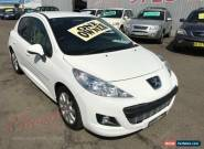 2010 Peugeot 207 MY10 Sportium White Automatic 4sp A Hatchback for Sale