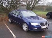 2007 VOLKSWAGEN PASSAT SE TDI 140 AUTO BLUE FULL MOT (TODAY) NO RESERVE for Sale