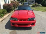 1990 Ford Mustang GT Convertible 2-Door for Sale