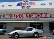 1968 Chevrolet Corvette C3 MY1968 Stingray Silver Automatic 3sp A Coupe for Sale