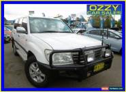 2006 Toyota Landcruiser HDJ100R Upgrade II GXL (4x4) White Automatic 5sp A for Sale