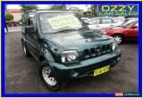 Classic 2000 Suzuki Jimny JLX (4x4) Green Automatic 4sp A Wagon for Sale