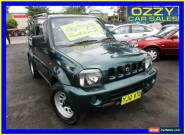 2000 Suzuki Jimny JLX (4x4) Green Automatic 4sp A Wagon for Sale