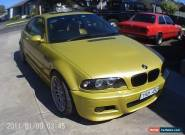 BMW M3 (2003) 2D Coupe Manual (3.2L - Multi Point F/INJ) 5 Seats for Sale
