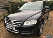 2006 VOLKSWAGEN TOUAREG ALTITUDE V6 TDI A BLACK for Sale