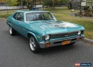 1972 Chevrolet Nova 2 door coupe for Sale