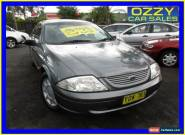 2000 Ford Falcon Auii Forte Grey Automatic 4sp A Sedan for Sale