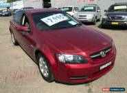 2009 Holden Commodore VE MY09.5 Omega Burgundy Automatic 4sp A Sedan for Sale