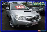 Classic 2010 Subaru Forester MY10 XT Premium Silver Manual 5sp M Wagon for Sale