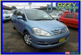 Classic 2007 Toyota Avensis ACM21R Verso GLX Blue Automatic 4sp A Wagon for Sale