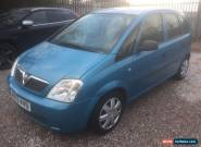 2003 VAUXHALL MERIVA LIFE 8V BLUE for Sale